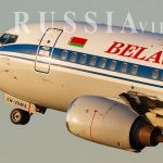 فرود اضطراری هواپیمای بلاروس در روسیه