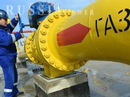 صادرات گاز روسیه به چین