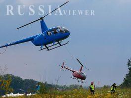 سقوط بالگرد روسی