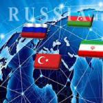 آذربایجان و ایران و روسیه و ترکیه